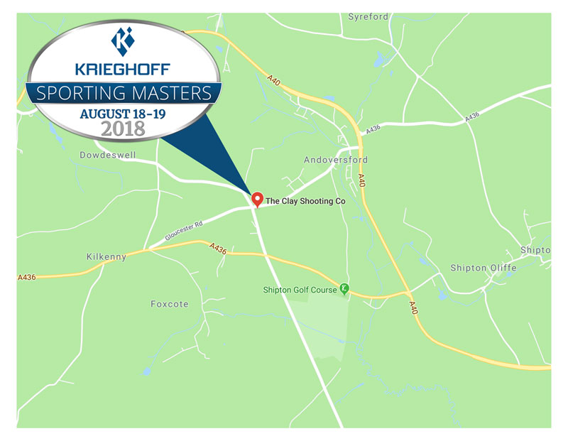 Krieghoff Sporting Masters Map