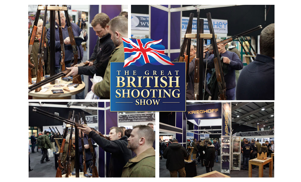 Krieghoff at the British Shooting Show